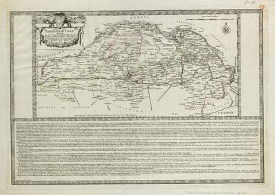 Mapa del Obispado de Osma dedicado al Ill.mo S.r D. F. Joachin de Eleta, etc. [Material cartográfico]