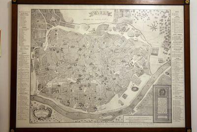 Plano topográphico de la M. N. Y M. L. ciudad de Sevilla [Material cartográfico]