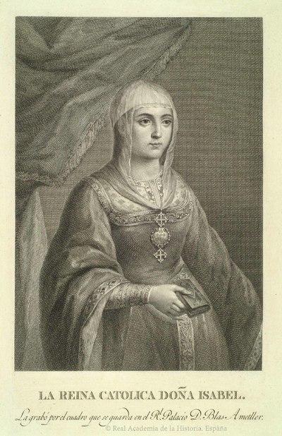 La Reina Católica Doña Isabel [Material gráfico no proyectable]