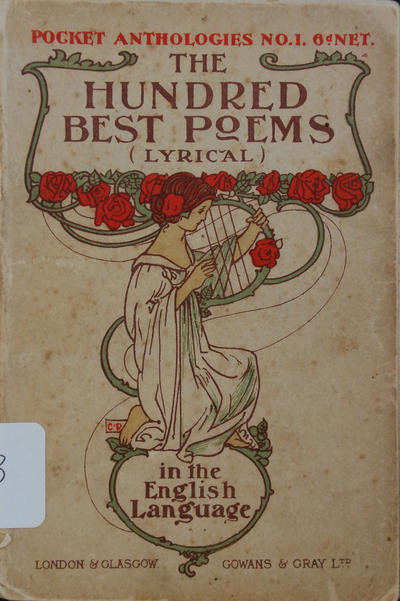 hundred best poems (lyrical) in the english language