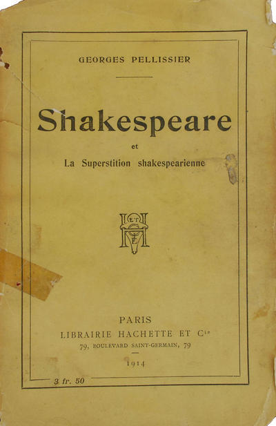 Shakespeare et la superstition shakespearienne