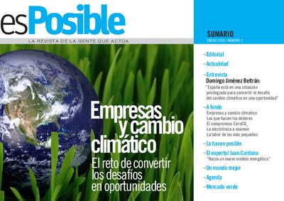 Es posible : la revista de la gente que actúa: Número 1 - enero 2010