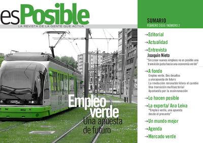 Es posible : la revista de la gente que actúa: Número 2 - febrero 2010