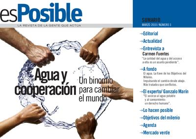 Es posible : la revista de la gente que actúa: Número 3 - marzo 2010