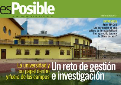 Es posible : la revista de la gente que actúa: Número 17 - junio 2011