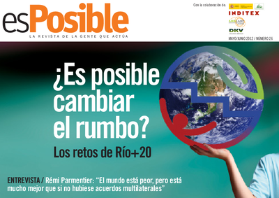 Es posible : la revista de la gente que actúa: Número 26 - mayo 2012 (Ed. en español)