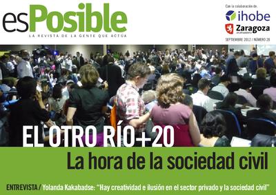 Es posible : la revista de la gente que actúa: Número 28 - septiembre 2012