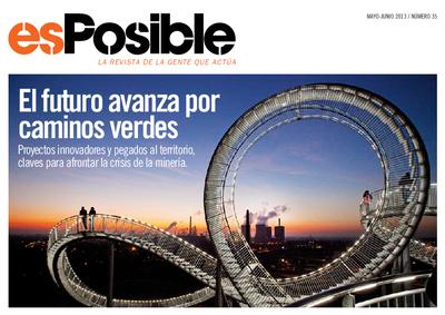 Es posible : la revista de la gente que actúa: Número 35 - mayo-junio 2013