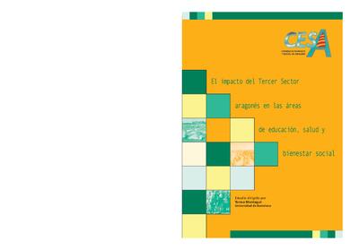 El impacto del Tercer Sector aragonés en las áreas de educación, salud y bienestar social