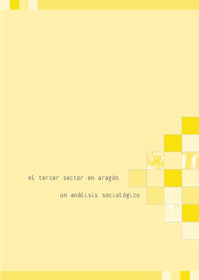 El tercer sector en Aragón : un análisis sociológico