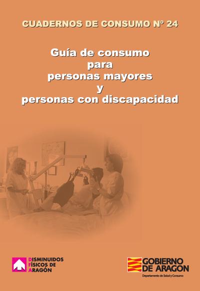 Guía de consumo para personas mayores y personas con discapacidad.