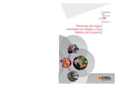 Personas de origen extranjero en Aragón y sus hábitos de consumo