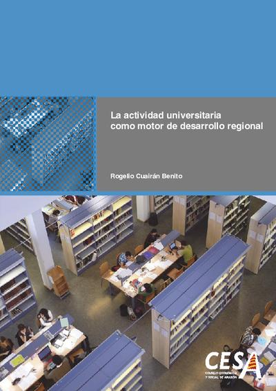 La actividad universitaria como motor de desarrollo regional