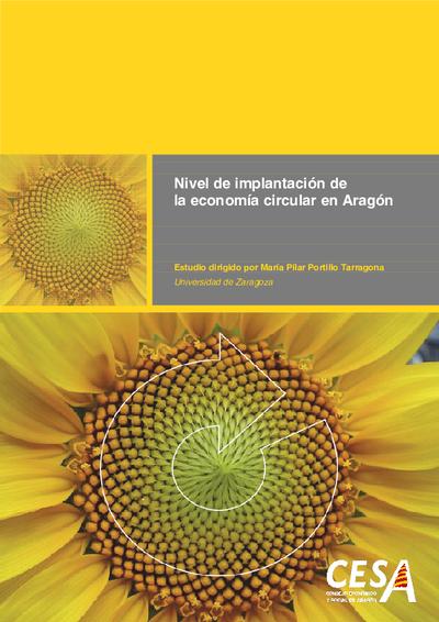 Nivel de implantación de la economía circular en Aragón