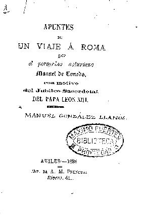 Apuntes de un viaje á Roma