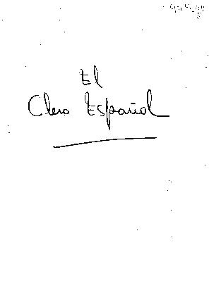 El Clero español en 1838
