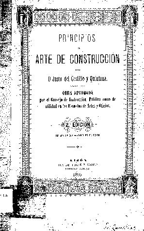 Principios del arte de construcción