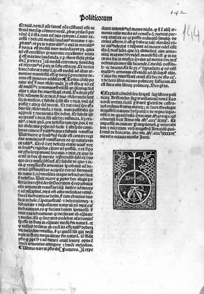 Commentum super libros Politicorum et Oeconomicorum Aristotelis.