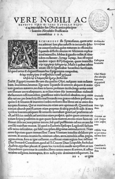 [D. Eucherii ... lucubrationes aliquot non minuspiae quam eruditae