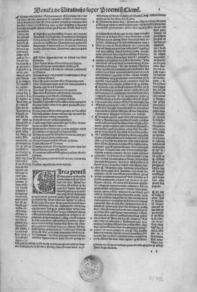 [Eximii ... Bonifacii de Vitalinis ... Lectura ... super constitutionibus Clementis pape quint quas Clementinas nominitant ...