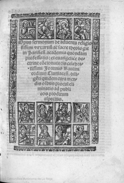 Opus sermonum de aduentu