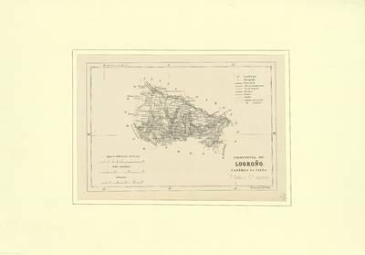 Provincia de Logroño, Castilla la Vieja [Material cartográfico]
