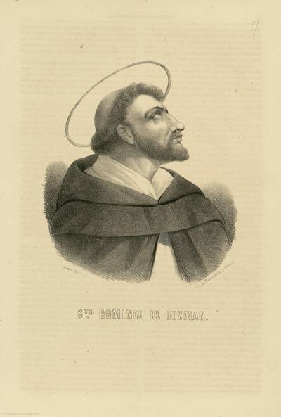 Sto. Domingo de Guzmán [Material gráfico]