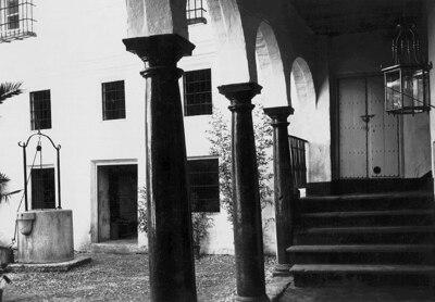 Patio de la Casa de los Zayas en Calle de Nájera
