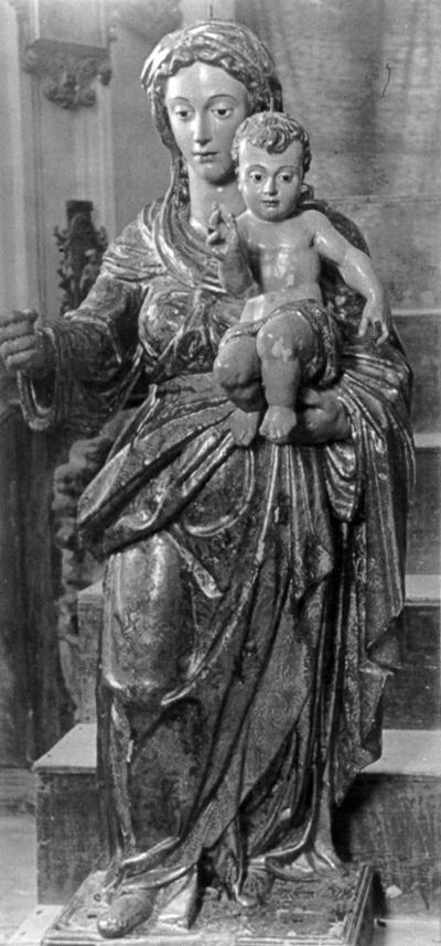 Virgen del Rosario [Material gráfico] : de la Iglesia de Santo Domingo de Antequera