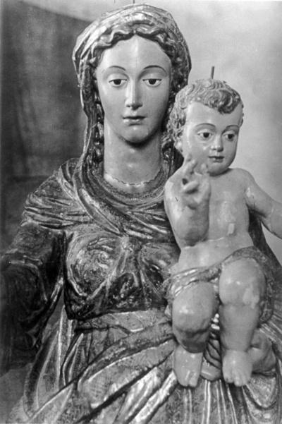 Virgen del Rosario [Material gráfico] : en la Iglesia de Santo Domingo de Antequera
