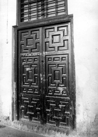 PUERTA DEL PALACIO DE SALINAS - SALINAS, 7, CALLE