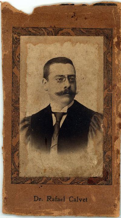 Rafael Calvet [Material gráfico]