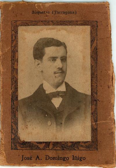José A. Domingo Íñigo, Roquetas (Tarragona) [Material gráfico]