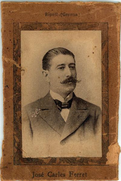 José Carles Ferret, Ripoll (Gerona) [Material gráfico]