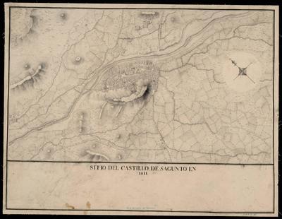 Sitio del castillo de Sagunto en 1811