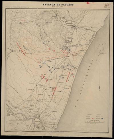 Batalla de Sagunto : 25 de Octubre de 1811