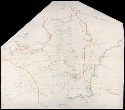 Plano del Reyno de Murcia