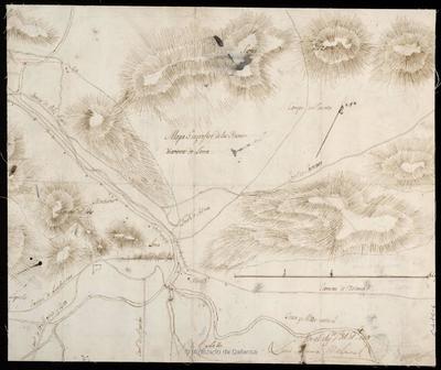 Mapa Geografico de las Ynmediaciones de Lorca