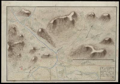 Mapa Geografico de las inmediaciones de Lorca