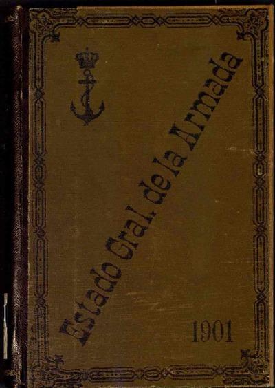 Estado general de la Armada: 1 enero 1897