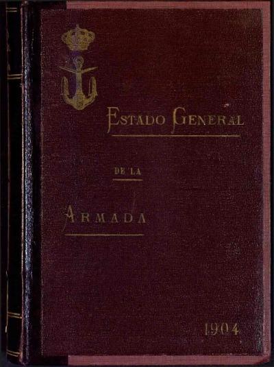 Estado general de la Armada: 1 enero 1904