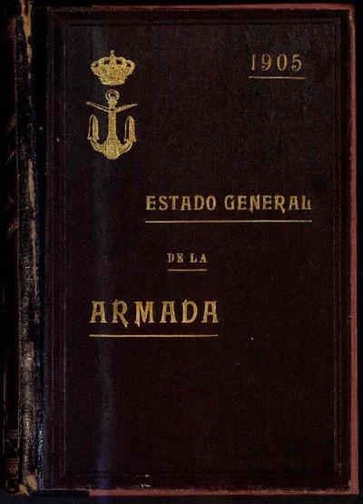 Estado general de la Armada: 1 enero 1905