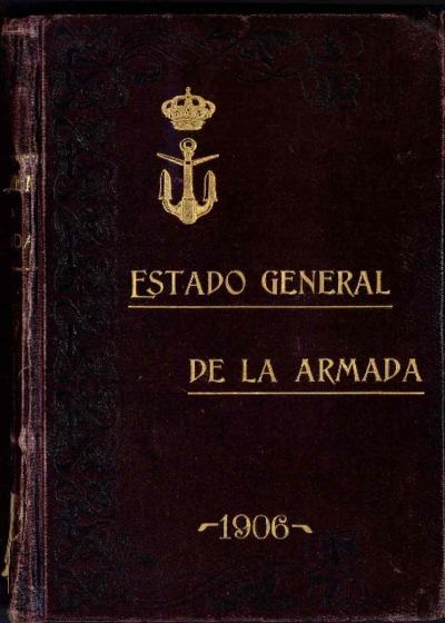 Estado general de la Armada: 1 enero 1906