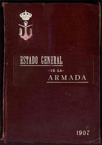 Estado general de la Armada: 1 enero 1907