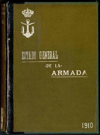 Estado general de la Armada: 1 enero 1910