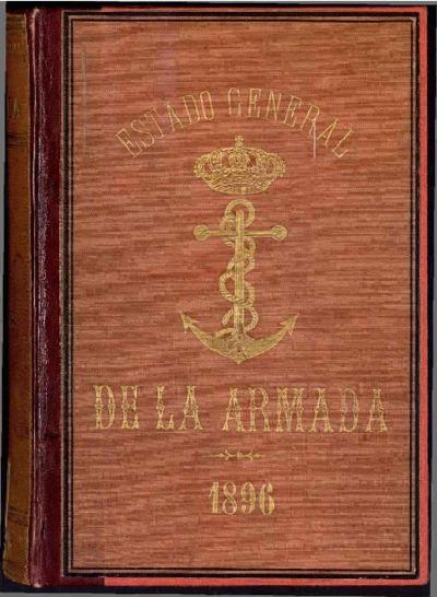 Estado general de la Armada: 1 enero 1896