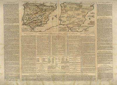 Espagne et Portugal [Material cartográfico] ; Formation politique de la Monarchie espagnole : [mapas]