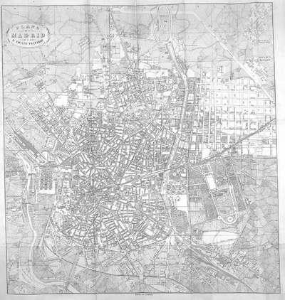 Plano de Madrid [Material cartográfico]