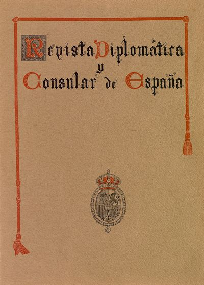 Revista diplomática y consular de España