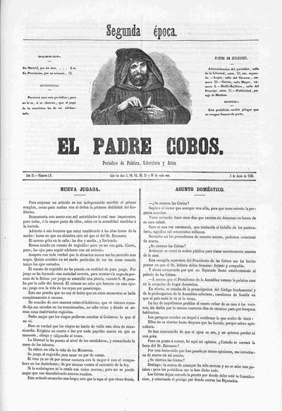 El Padre Cobos : periódico literatura y artes